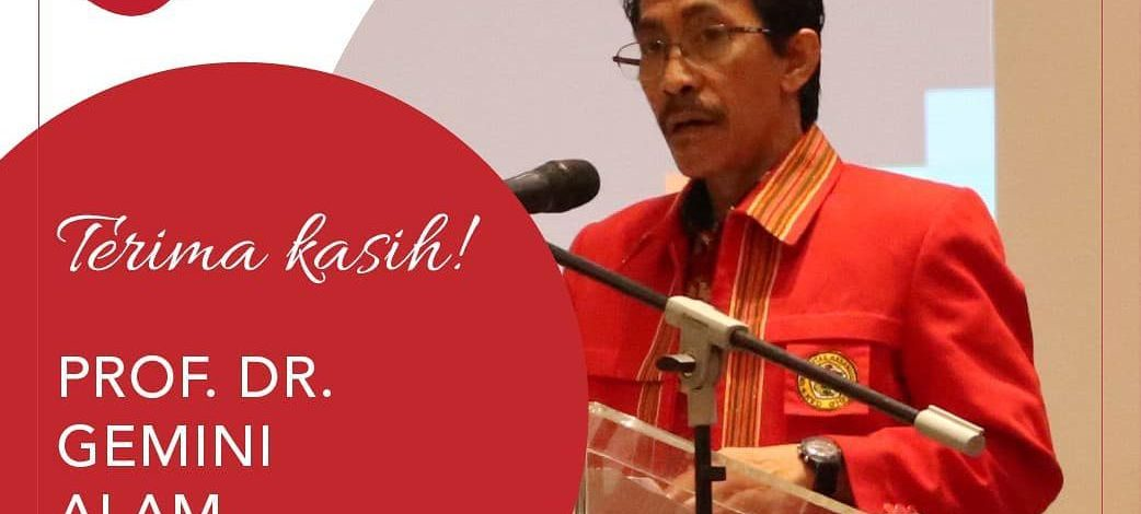 Thank you Prof. Gemini Alam for your dedication to the Faculty of Pharmacy UNHAS