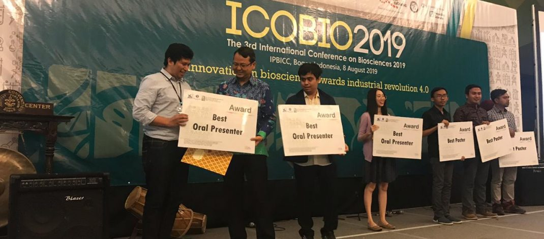 ICoBio IPB, Dosen FF Unhas Raih Predikat Best Oral Presenter